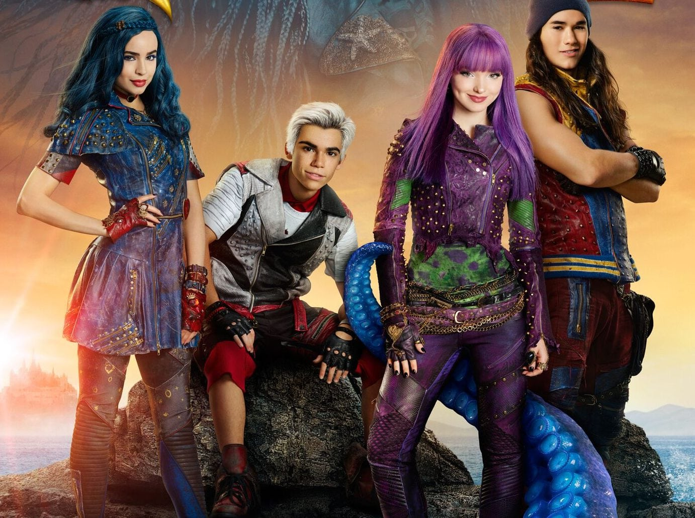 disney's descendants 2 movie - HD 1382×1029
